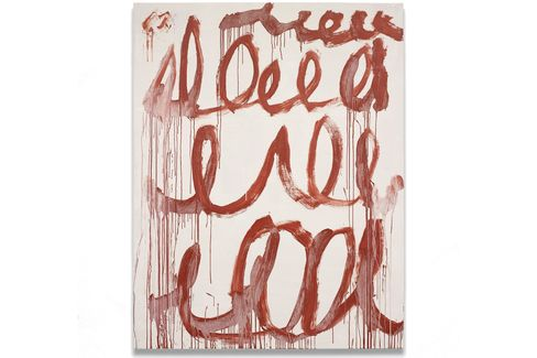 Cy Twombly, Untitled (2006).