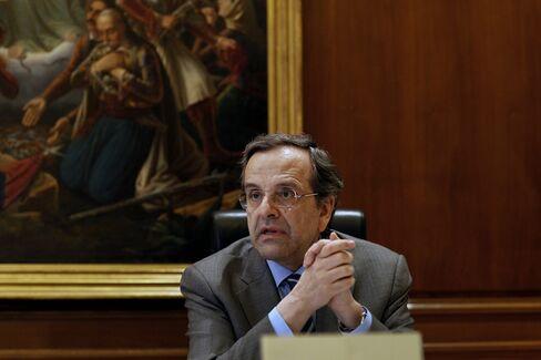 Prime Minister Antonis Samaras