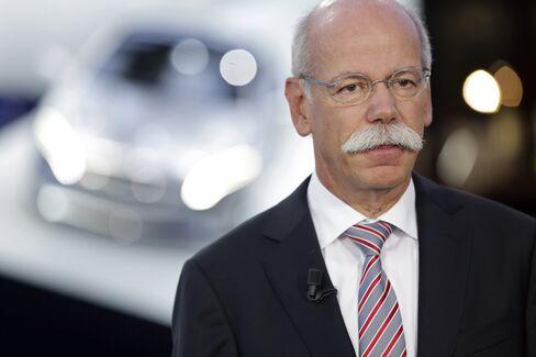 Daimler AG CEO Dieter Zetsche