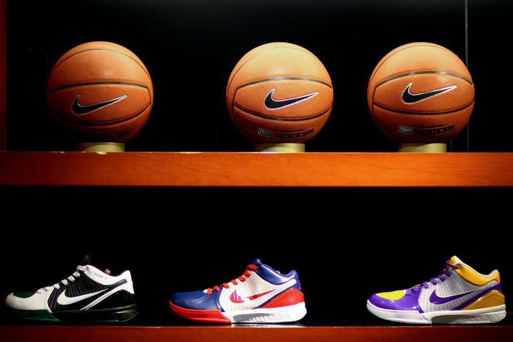 ce514146 Nike Wins $1 Billion Contract With NBA as Adidas Walks Away - Bloomberg