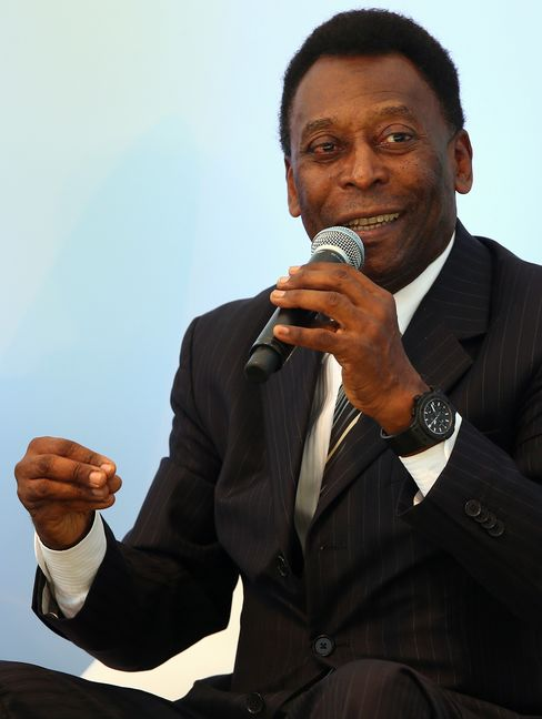 Retired Soccer Great Pele