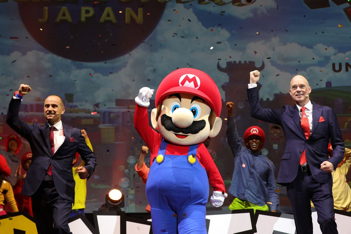 Nintendo Plans Life Sized Video Game At Universal Studios