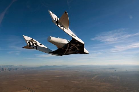 Virgin Galactic Test Flights
