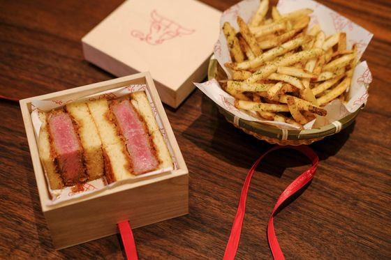 Wall Street's Newest Hot Commodity: The $185 Wagyu Steak Sandwich