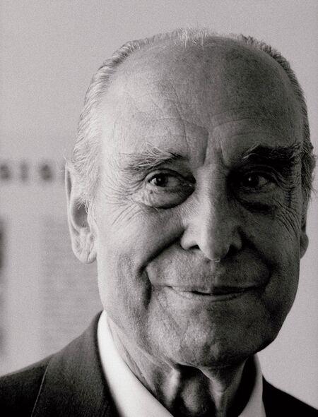 Ana Botín's grandfather, Emilio Botín II.