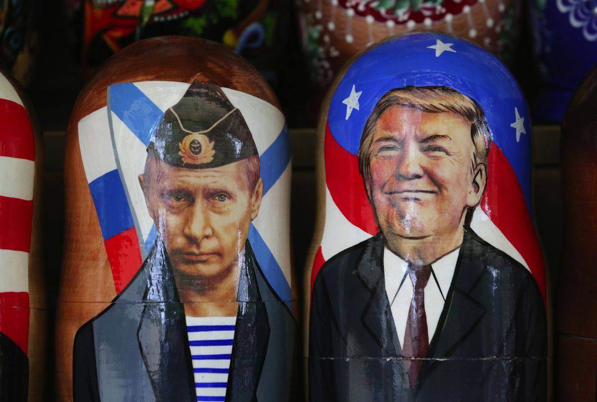 Trump Pushes the World Right Into Putin's Hands