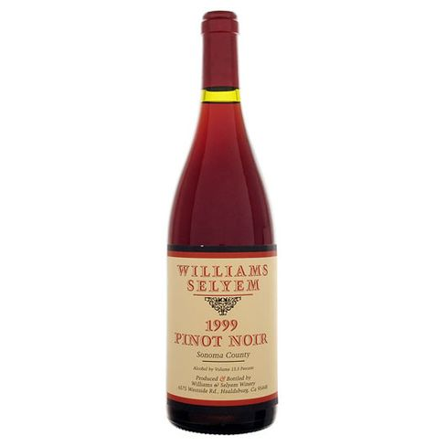1999 Williams Selyem Sonoma County Pinot Noir