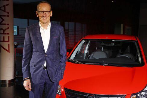 Adam Opel AG Chief Executive Officer Karl-Thomas Neumann