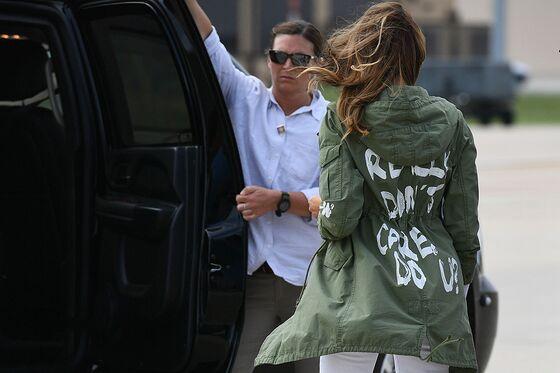 Melania Trump's Zara Jacket Thrusts Inditex Into Spotlight