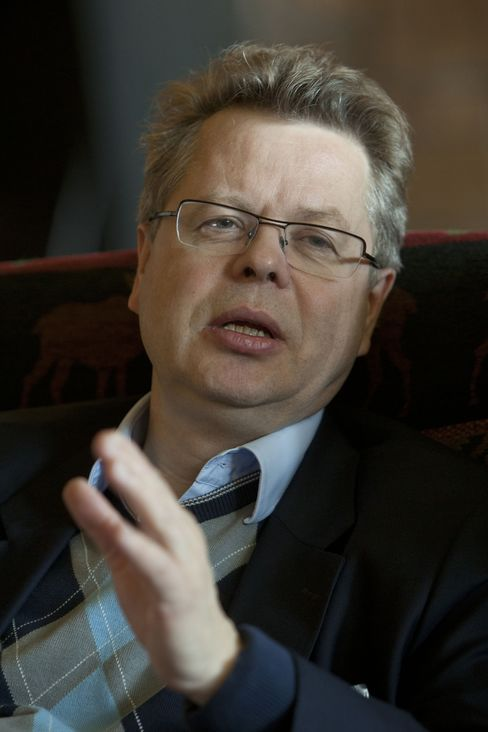 Iceland's Central Bank Governor Mar Gudmundsson