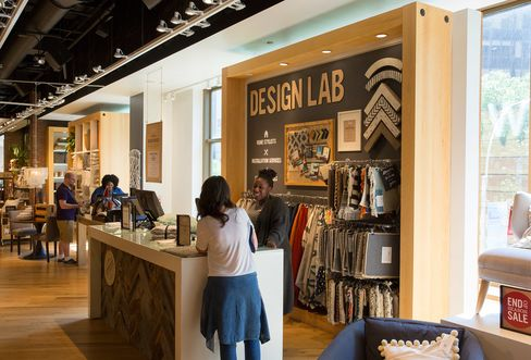 The Design Lab at West Elm in New York