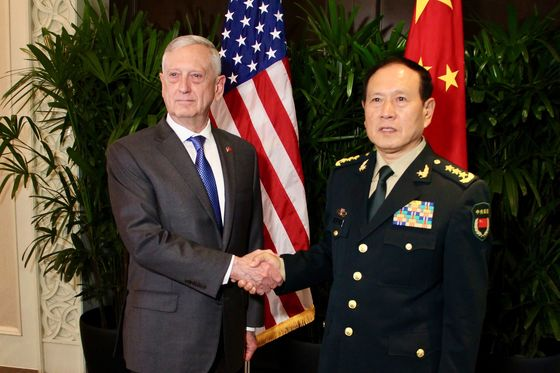 U.S., China Agree to Asia Defense Rules to Avoid Air Crashes