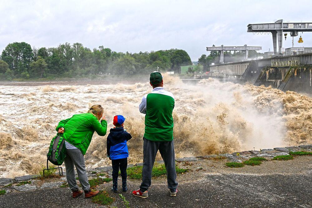 AUSTRIA-EUROPE-WEATHER-FLOODS