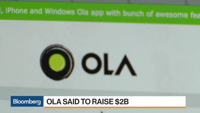 India's Ola raises US$2 bil from SoftBank, Tencent