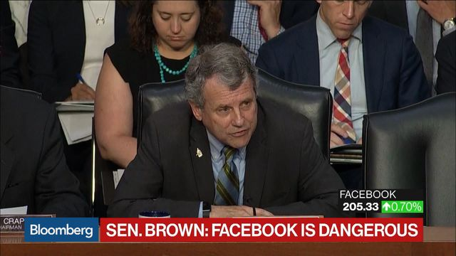 Facebook's Crypto Plan Called `Delusional' as Senate Digs In