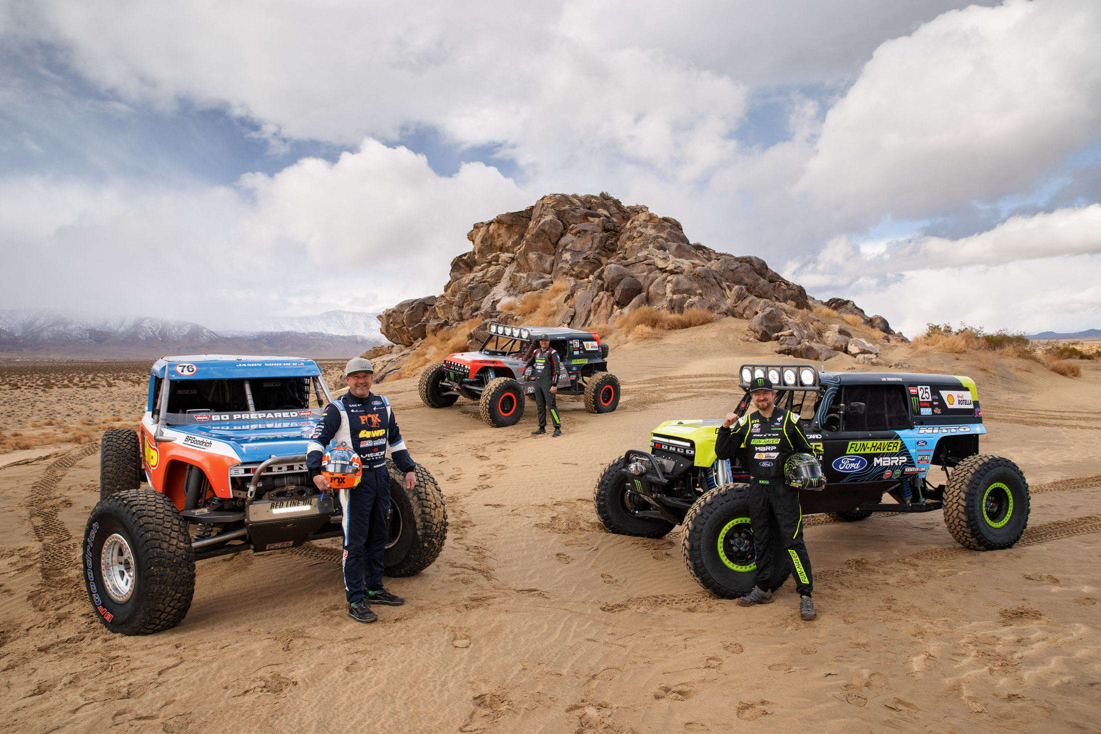 """relates to Ford Dominates """"Burning Man for Trucks"""" With Its New Bronco"""