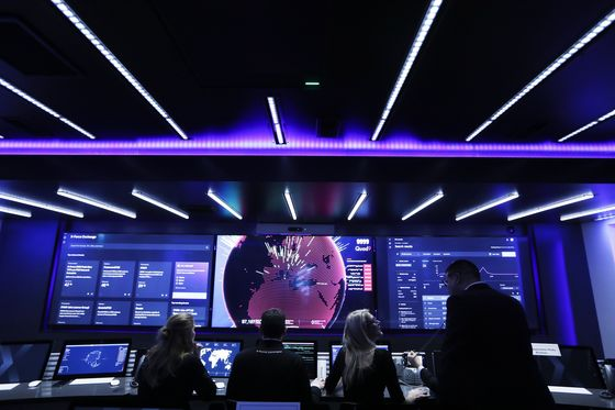 To Sell Europe on Cyber Security, IBM Turns to Big Rig Operations Center