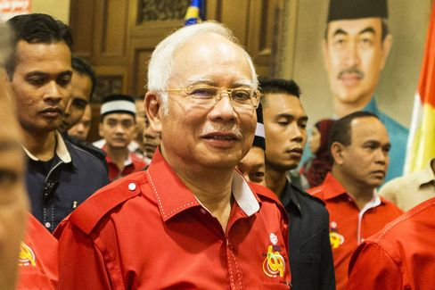 Malaysia's Prime Minister Najib Razak Attends The United Malays National Organisation General Assembly