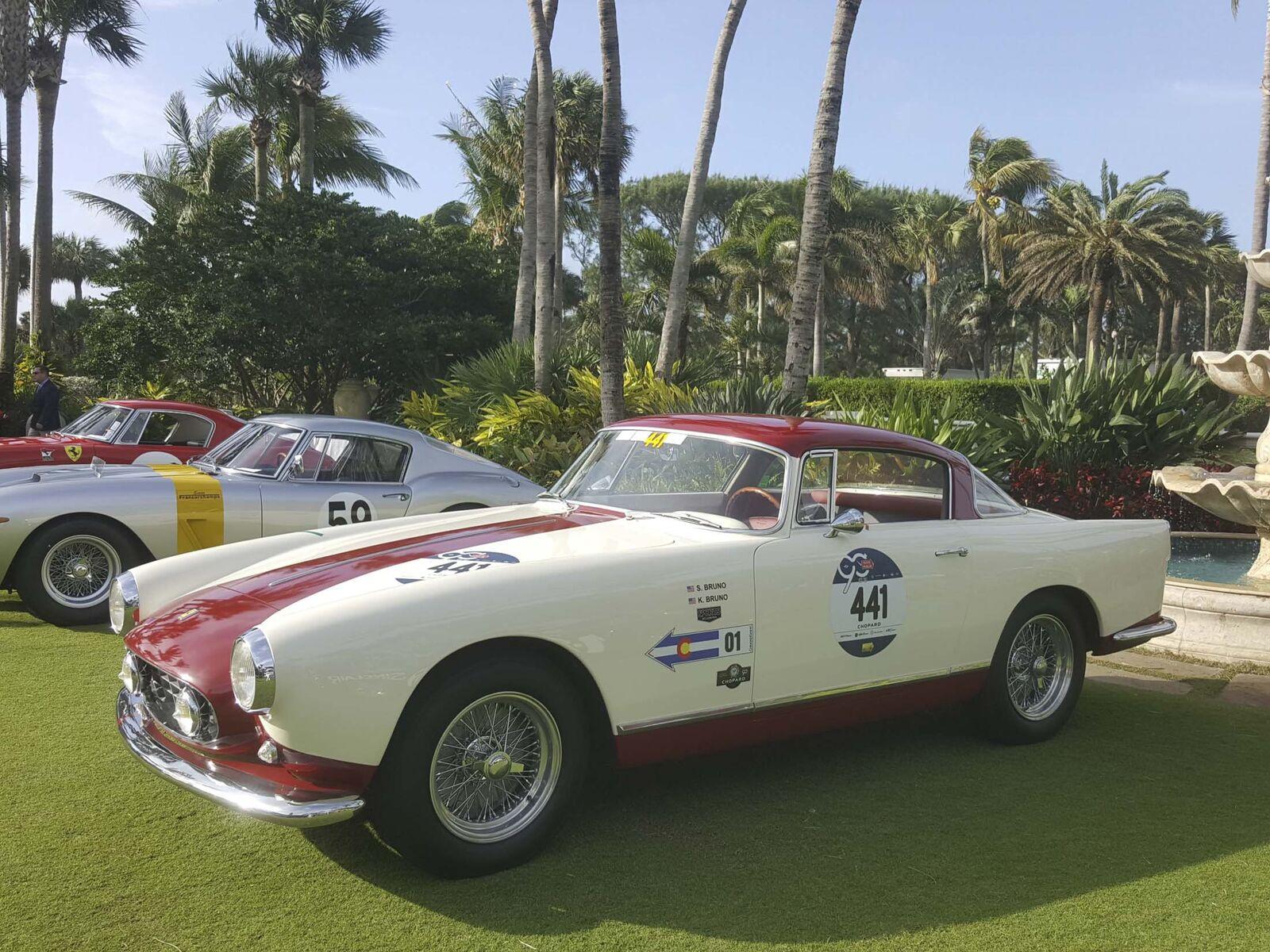 <p> <strong> <span> 1957 Ferrari 250 GT Boano Coupe </ span> </ strong> </ p>