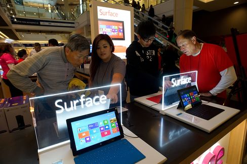 Microsoft-Intel Push to Combat Apple in Tablets Sputtering