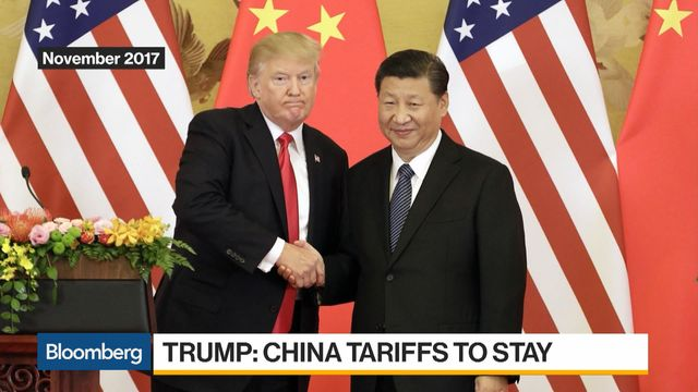 Trump Says Tariffs Will Stay Until China Complies With Deal