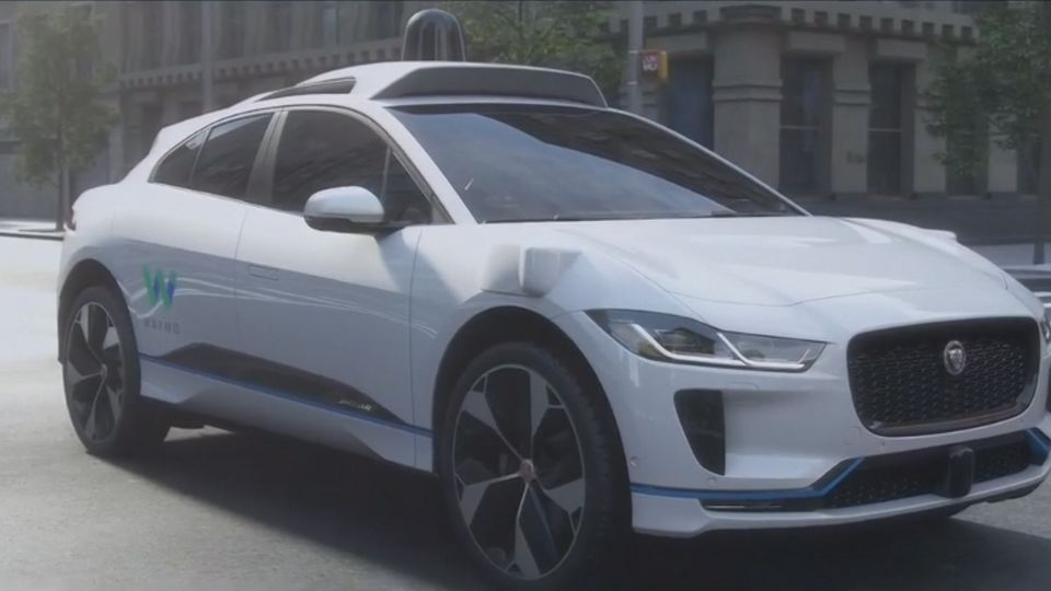 Waymo and Jaguar Team Up With 20,000 Car Self-Driving Fleet - Bloomberg