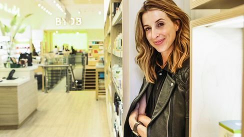 Katia Beauchamp, co-founder of Birchbox, organizes her stores by product instead of label, just like the company's eponymous boxes.