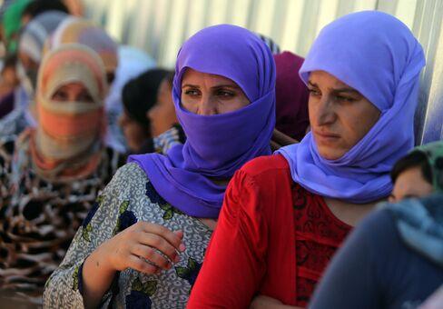 Yazidi Iraqi Women