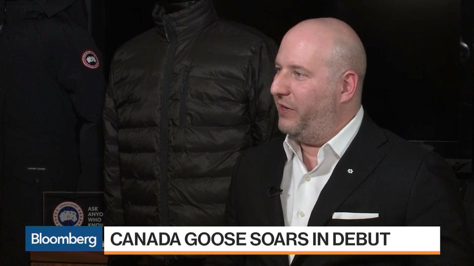 That Surging IPO Just Made Canada Goose an Even Bigger Protest Target - Bloomberg