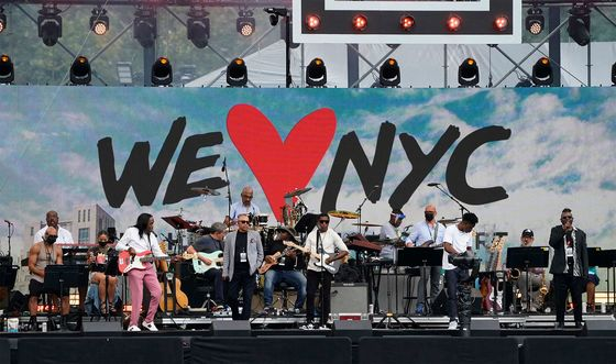 NYC Hosts 'Homecoming' Mega Concert in Defiance of Delta Spread