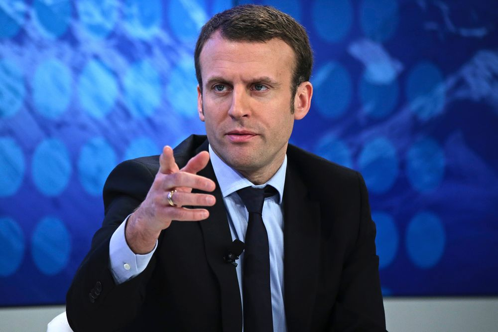 Macron Blasts Political Parties As Heart Of France S Problems Bloomberg