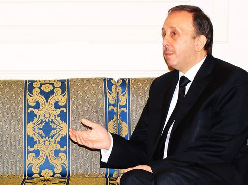 Syrian Parliament Speaker Mohammed Jihad Laham