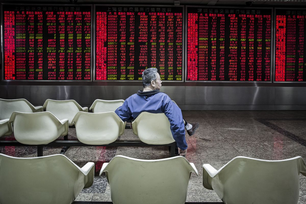 China Stocks Rebound From Sell-off That Erased $720 Billion