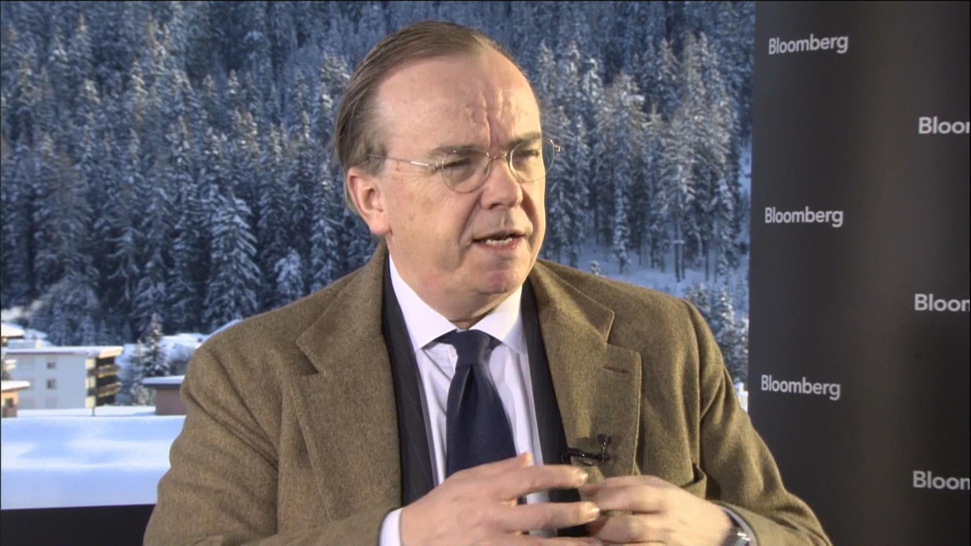 Davos Exclusive Interview With HSBC's Stuart Gulliver
