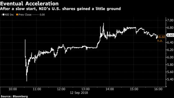 China's Tesla Rival Prices $1 Billion IPO Near Bottom