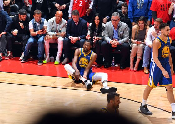 Durant's Injury Rocks NBA Teams Poised to Dangle $160 Million