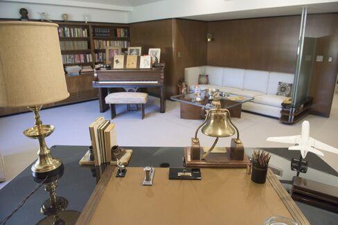 Restoration of Walt Disney's Office