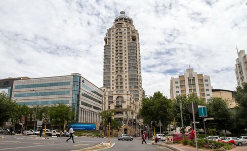 Citibank Offices Stand in Johannesburg