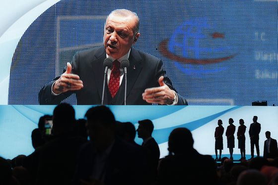 Erdogan Trumpets Turkey's Clout at Gigantic New Airport Opening