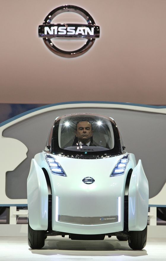 The Rise and Fall of an Auto Titan. Carlos Ghosn in Pictures