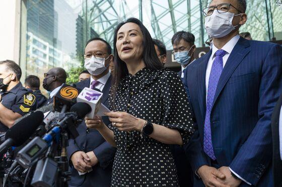 Huawei CFO Meng Wanzhou Leaves Canada on a Flight to China
