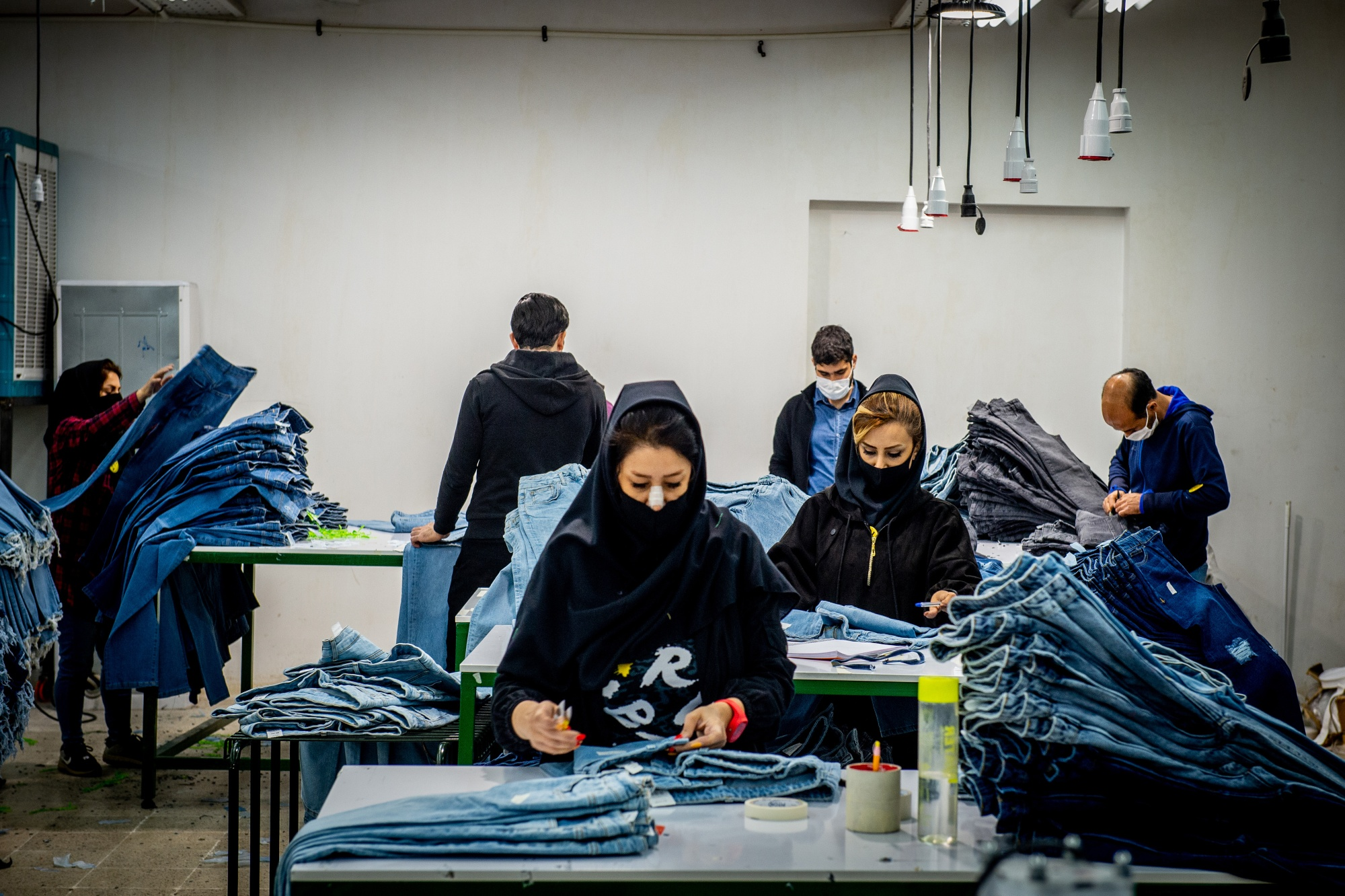 Clothing Factory in Tehran