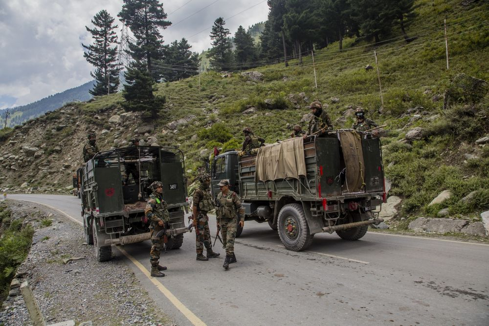 Indian and Chinese Troops Face-off Along The Disputed Himalayan Border