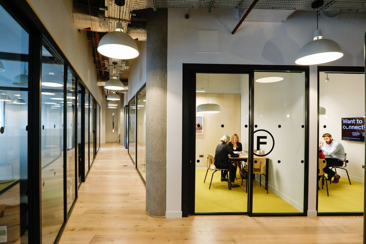 WeWork Squeezes People Into Just Half the Space of Most Offices