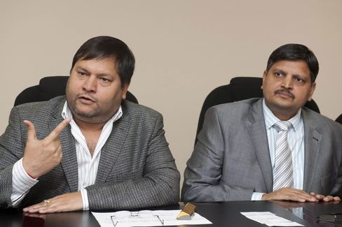 Ajay & Atul Gupta in 2011.