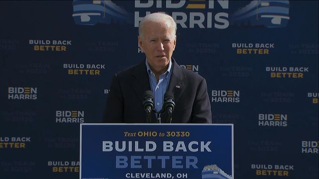 Biden Says Trump 'Looks Down' on Everyday Americans