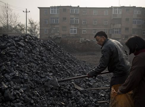 China coal use
