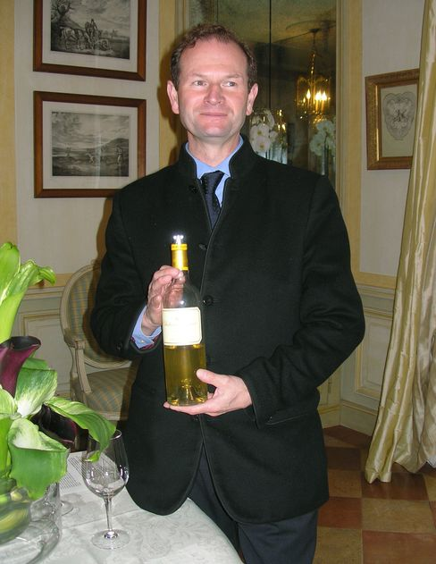Pierre Lurton, CEO of estate Chateau d'Yquem