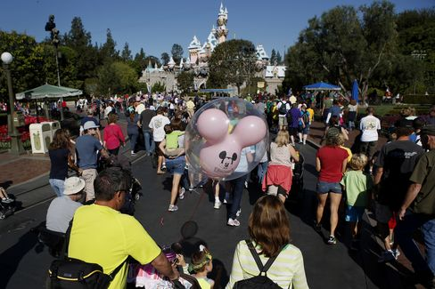 Disney Profit Beats Expectations on Gains From Theme Parks