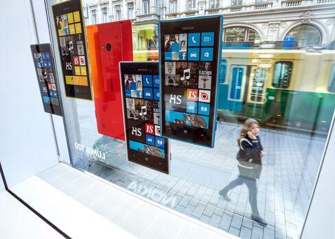 Nokia Oyj's Windows Based Lumia Smartphones
